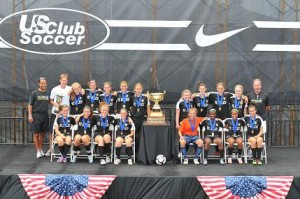 July 2010 Virginia Beach FC Delco Lightning US Club National Champions.  Team Coached by Kevin Rooney and Mick Smith