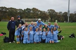 PDA Storm 2012 NJYSA State Champions. Coached by Mick Smith, Nick Heinemann and Doug Nivens